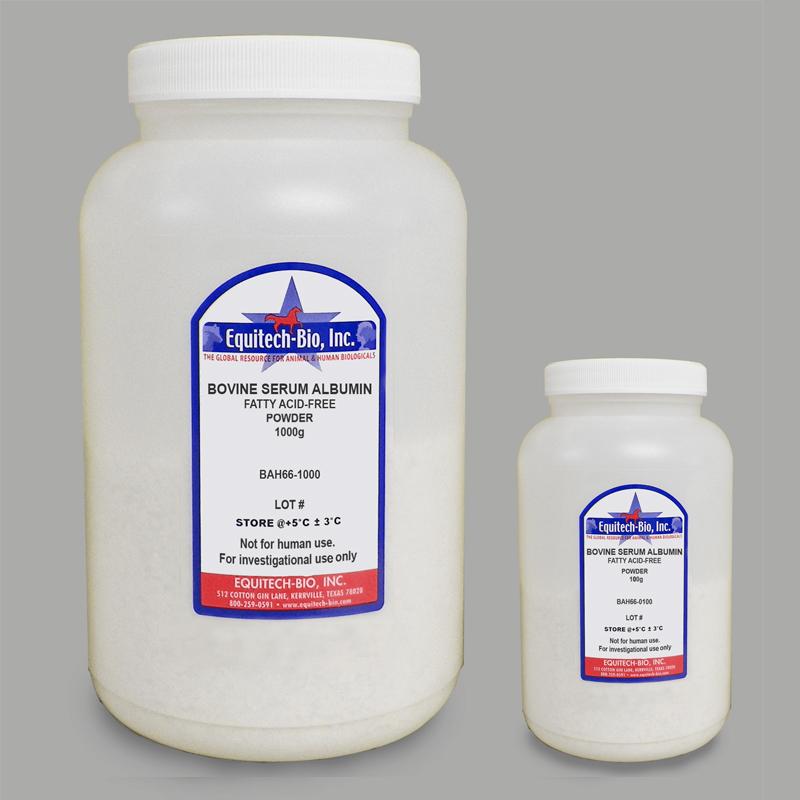 无脂肪酸牛血清白蛋白